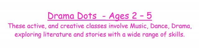 Toddler drama classes