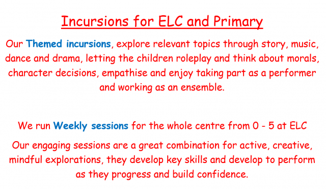 early learning centre incursions